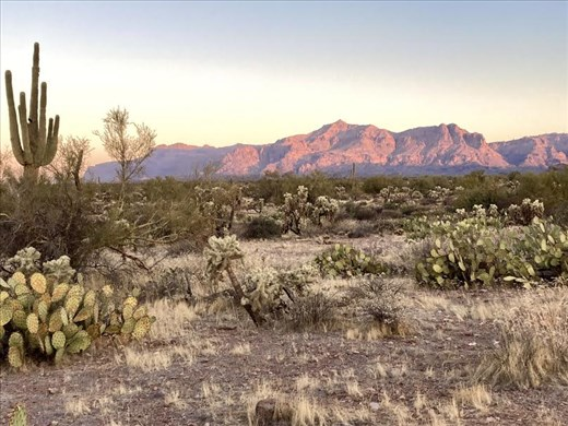 Sunrise, Superstition Mountains