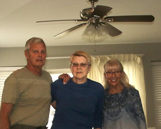 John, Connie & Linda—Aged like fine wine