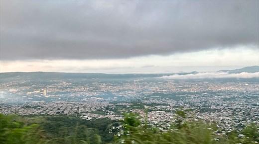 Tuxla, Capital of Chiapas, from Sumidero Canyon