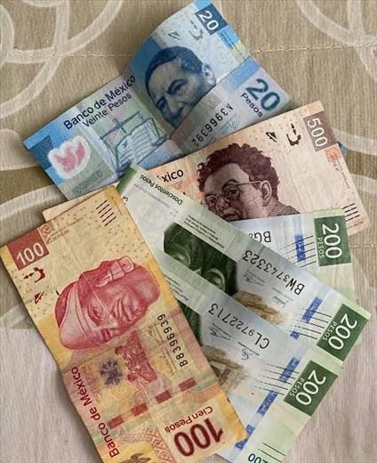 Our last pesos