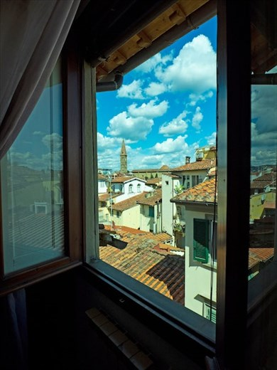 Our room with a view in Firenze