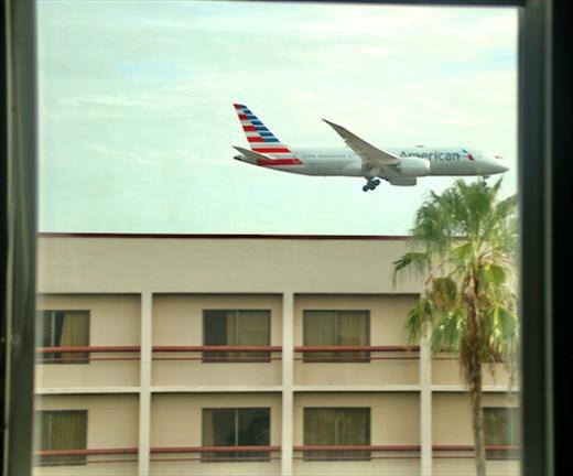 Close to the action, Hampton Inn Miami International Airport
