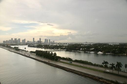 Leaving Miami on Carnival Horizon