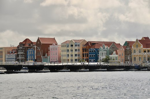 Willemstad WHS from Fort Rif