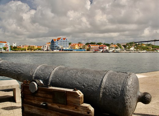 Willemstad from Fort Amsterdam