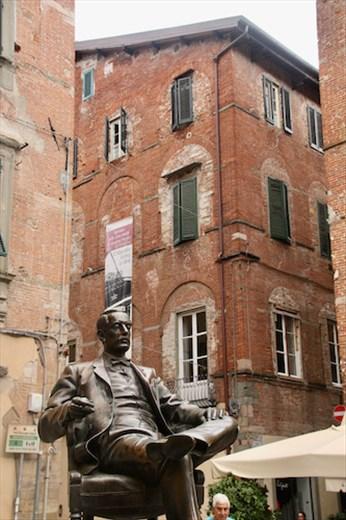 Giacomo Puccini, Lucca's favorite son