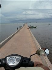 The loooong fishing wharf at Ham Ninh: by gretch_costa, Views[188]