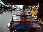 On the back of a Tuk Tuk in Phenom Penh.: by gretch_costa, Views[74]