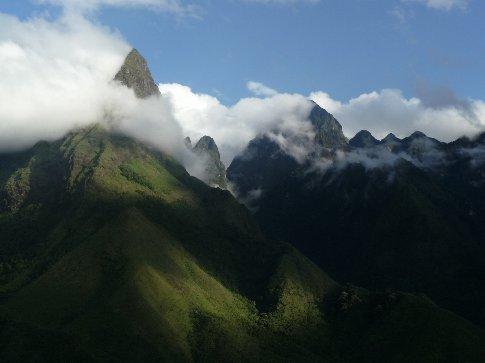 Massive peaks of north-west Vietnam, en route to Sapa.