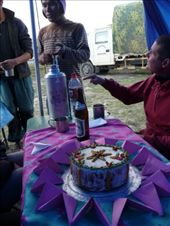 The Nepalese cooks did amazing things in the camp kitchen...feed the fat whiteys with cake, excellent!: by gretch_costa, Views[225]