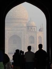 expect a few more shots of the Taj...it is a mighty impressive building: by gretch_costa, Views[108]