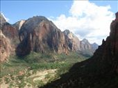 A view of Angel's Landing from down canyon: by gscottie, Views[321]