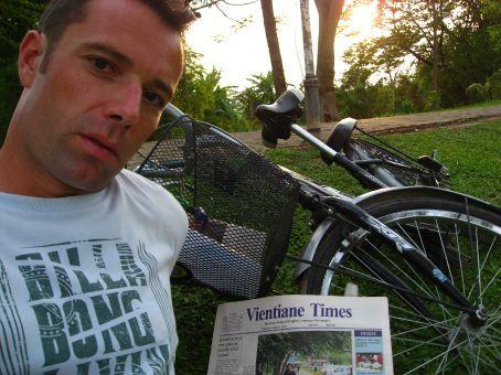Vientiane - Laos capital biking tour