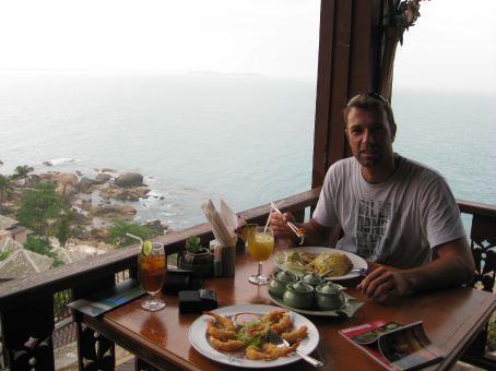 lunch break on Samui