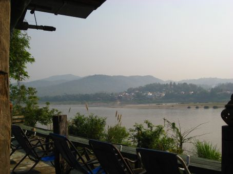finally the Mekong border view to Laos
