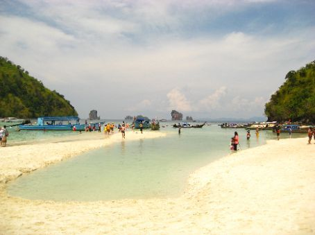 four islands tour from Ao Nang, first stop