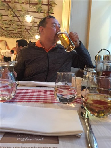 Ok, so in Croatia beer is much cheaper than either soda or water. When in Rome..