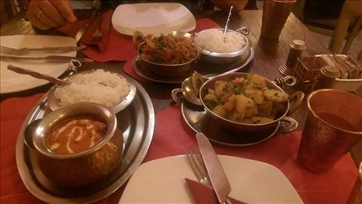 Mmmm, Indian food
