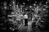 People go about their daily shopping at The Grand Bazaar: by gypsytraveler, Views[147]