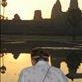 Got up at 5am for this one.  Sunrise over Angkor Wat.  WOW. Hannah painting the scenery. by: h1annah Views[377]