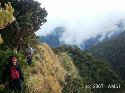 Mt. Nangtud Cliff