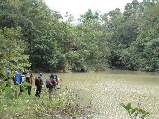 trek at the Lake at Mt. Porras
