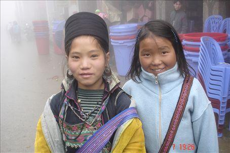 Shom, the girl about Sapa