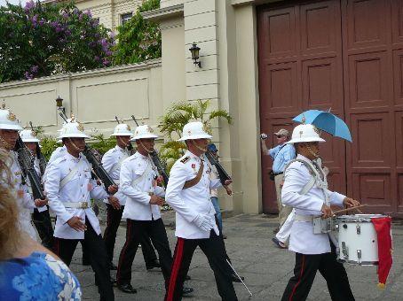 Guards at The Grand Palace