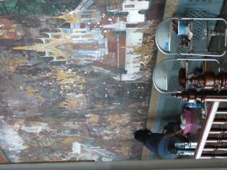 Restoring the Cloister murals at The Grand Palace
