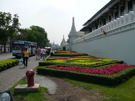 Outside The Grand Palace