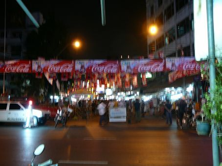 The spectacle that is Thanon Khao San at night