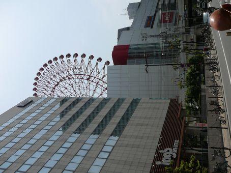 Centre city Big Wheel.  Osaka