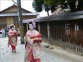Geisha.  Outside Yasaka Pagoda, Gion, Kyoto: by hannah-may, Views[282]