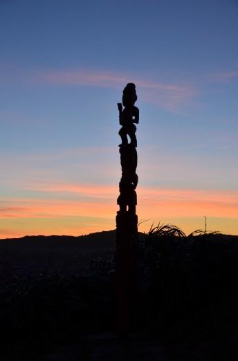 Sunset over Mt Victoria