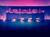 Traditional water puppet show, an amazingly skillful one! This scene had dancing dragons in it.: by hannap, Views[198]