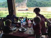 Beautiful lunch along the Mekong river.: by hannap, Views[263]