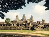 View of the magnificent Angkor Wat temple from the East gate.: by hannap, Views[276]