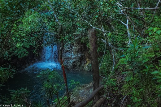 Paraiso Falls, Sta. Elena, Camarines Norte. Bicol region.