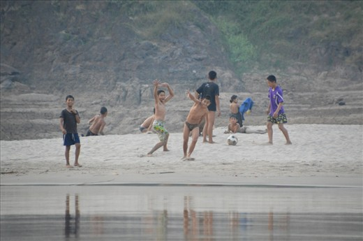 Happy and free. How does this not put a smile on your face. The Mekong's dark history is certainly brightened and forgotten with the spirit of these kids playing on the shore. They loved the interaction with tourists and travellers a like.