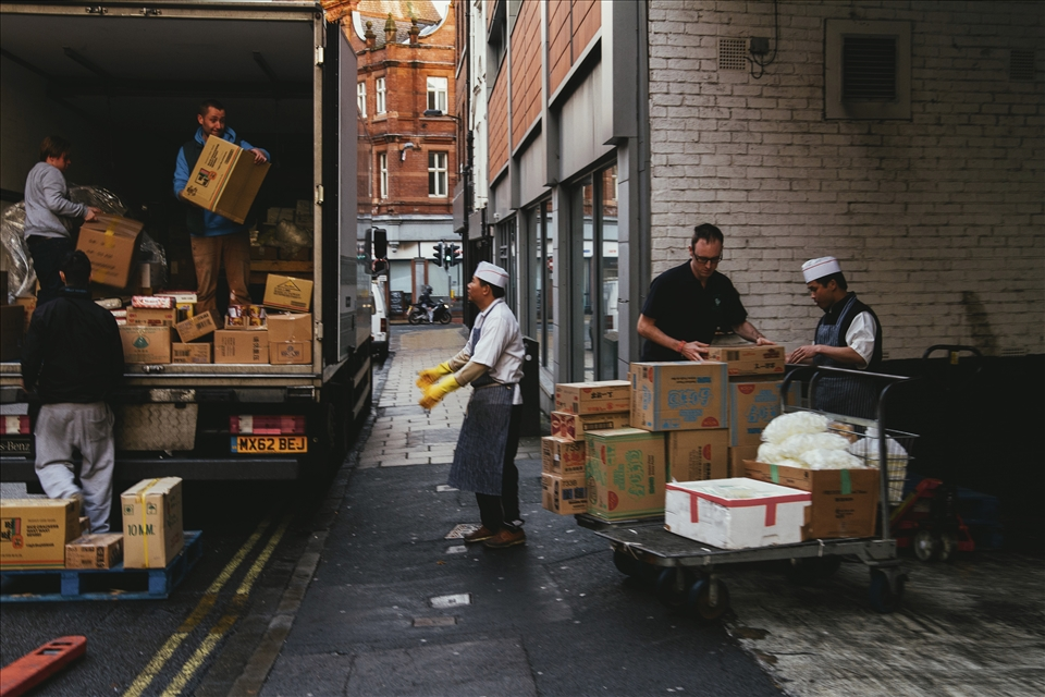 Offloading. York is well known for its fine eateries.