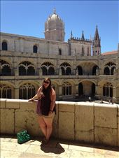 This is me with the interior courtyard of the monastery in the background. : by hayleythenomad, Views[178]