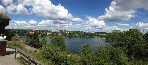 View of Stockholm from Skansen