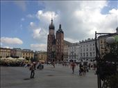 View from the front door of my hostel, Kraków : by hayleythenomad, Views[129]