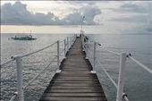 The bridge leading to the boat off to Sumilon Island,Cebu,PH.: by hazelmersa, Views[214]