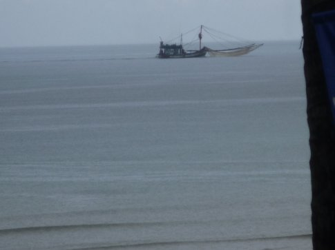 Fishing boat, from my balcony