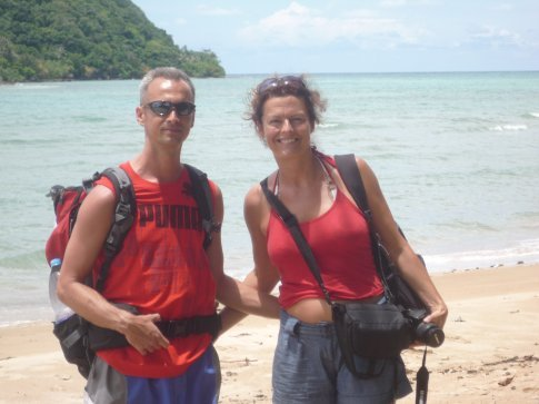 Our day out snorkelling - great company!