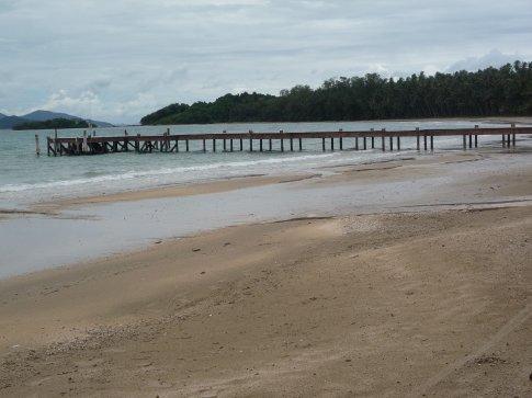 The Koh Mak jetty