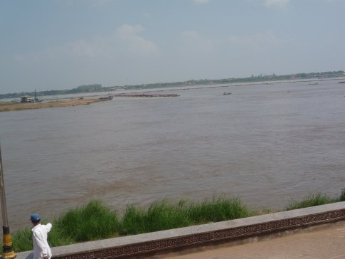 That river again, the Mighty Mekong...