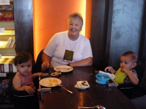 Nana with her munchkins...