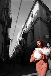 A woman and her well wrapped baby. : by heidinomads, Views[159]